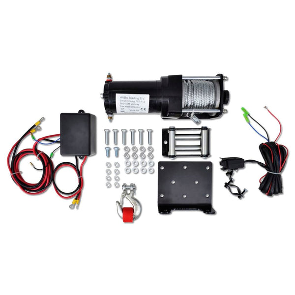 Electric Winch 1360 KG With Plate Roller Fair-Lead