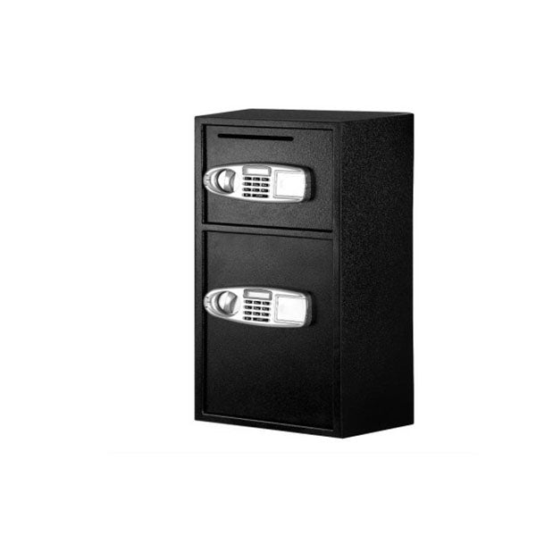 Electronic Safe Digital Security Box Double Door Lcd Display
