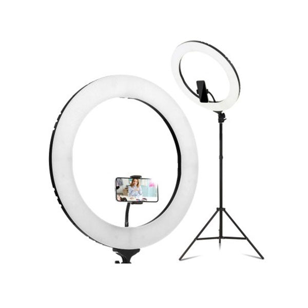 Embellir 19 Inch 5500K LED Ring Light Phone Camera DSLR