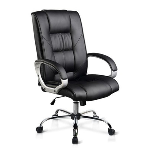 Executive PU Leather Office Chair - Black
