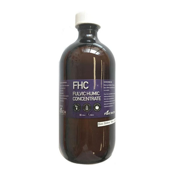500Ml Fulvic Humic Acid Liquid Concentrate Organic Mineral Nutrient