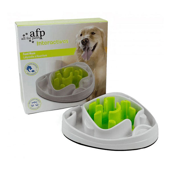 Dog Food Maze Bowl Interactive Toys Treat Water Feeder Dish
