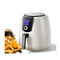 7L Air Fryer Lcd Healthy Cooker Low Fat Oil Free Kitchen Oven 1800W White
