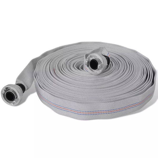 Flat Fire Hose 30 M With D-Storz Couplings 1 Inch