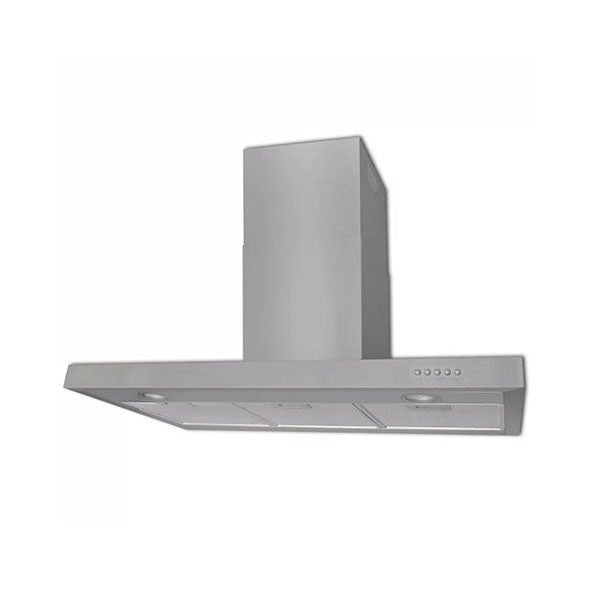 Flat Stainless Range Hood 900 Mm