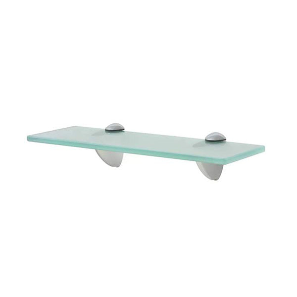 Floating Shelf Glass Clear 30 x 10 Cm 8 Mm