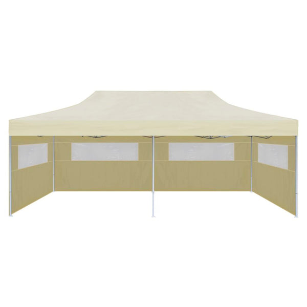 Foldable 3m x 6m Pop-up Party Tent - Cream