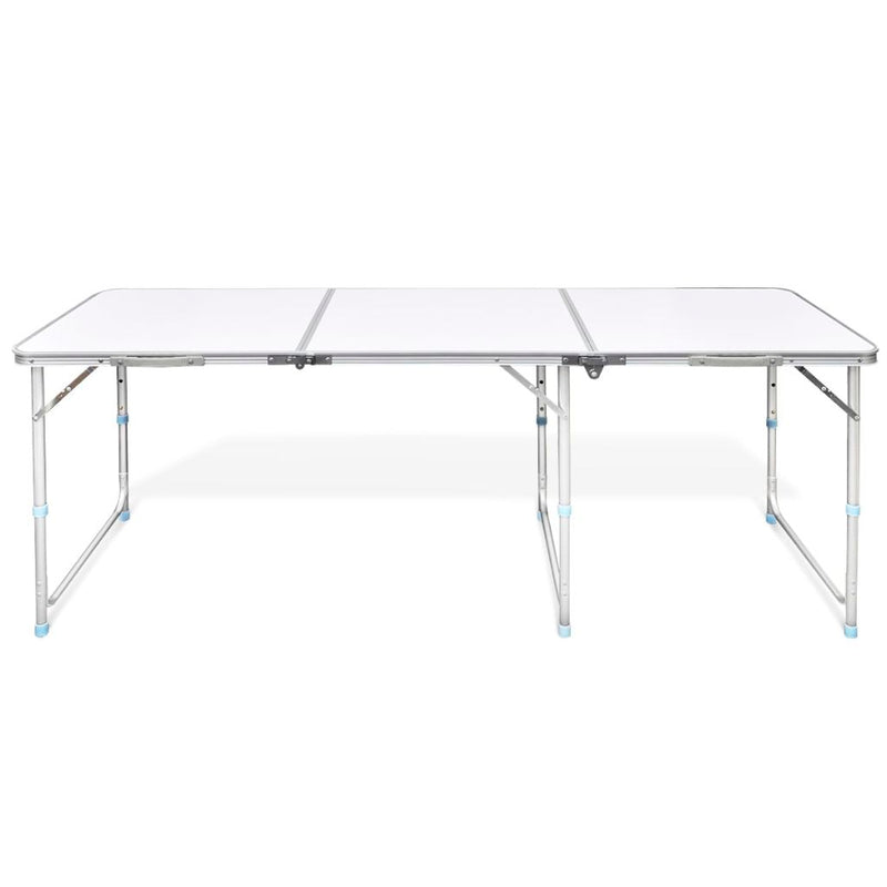 Foldable Aluminum Camping Table (180cm x 60cm)