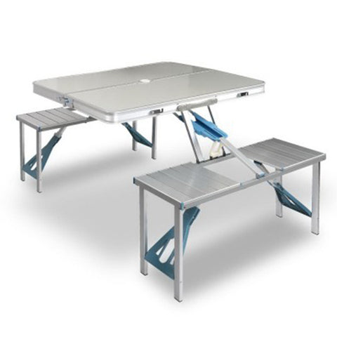 Folding Camping Table And Chair Portable Set