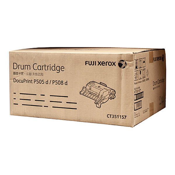 Fuji Xerox Ct351157 Blk Drum