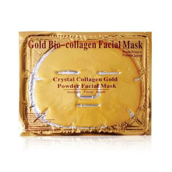 Gold Bio Collagen Facial Mask Lifting Anti Ageing Whitening Firming