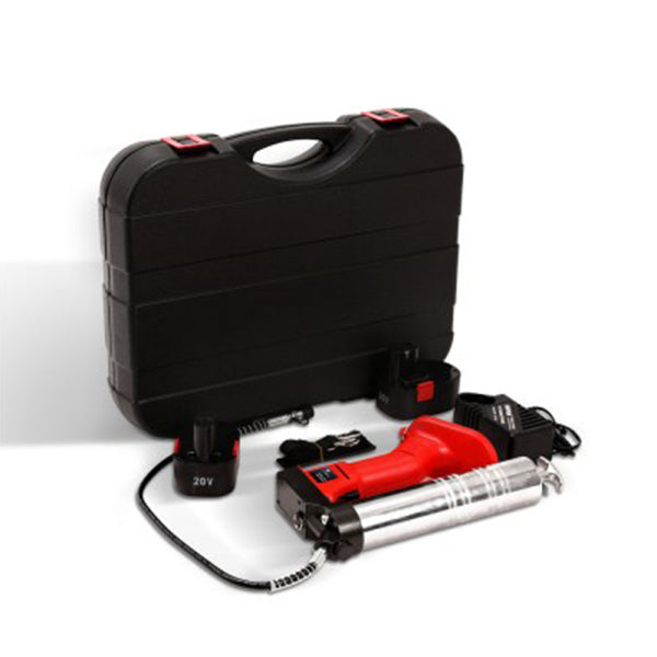 20V Rechargeable Cordless Grease Gun - Red