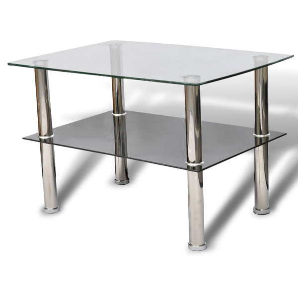 Glass Coffee Table 2 Tiers
