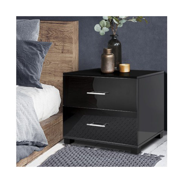 Glossy Bedside Table