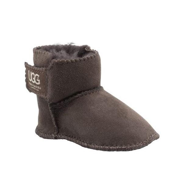 Gripper Dots Baby UGG Boot Chocolate