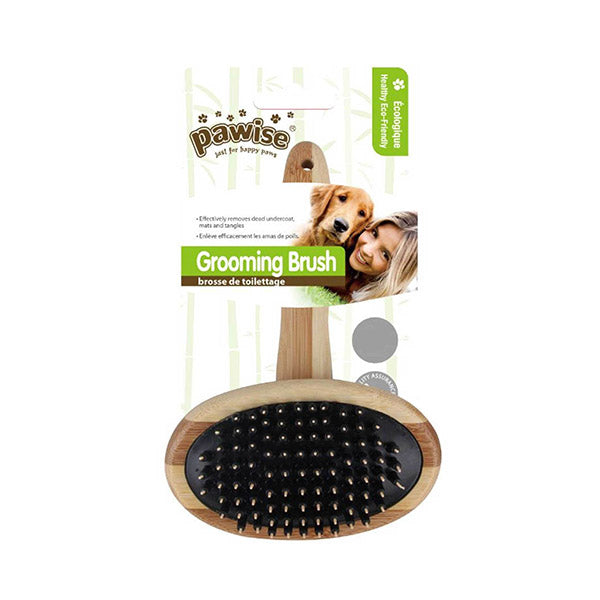 Grooming Eco Bamboo Brush Medium Dog Cat Pet