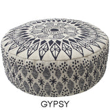 Embroidered Ottomans