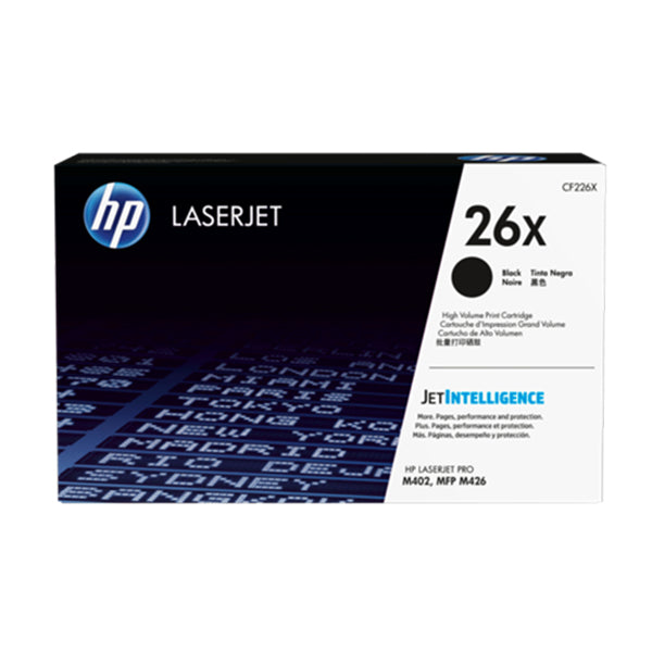 HP 26X Black LaserJet Toner Cartridge