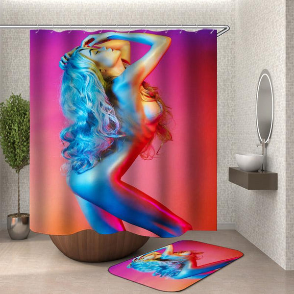 Sexy Shower Curtain - Hot Naked Girl Shower Curtain