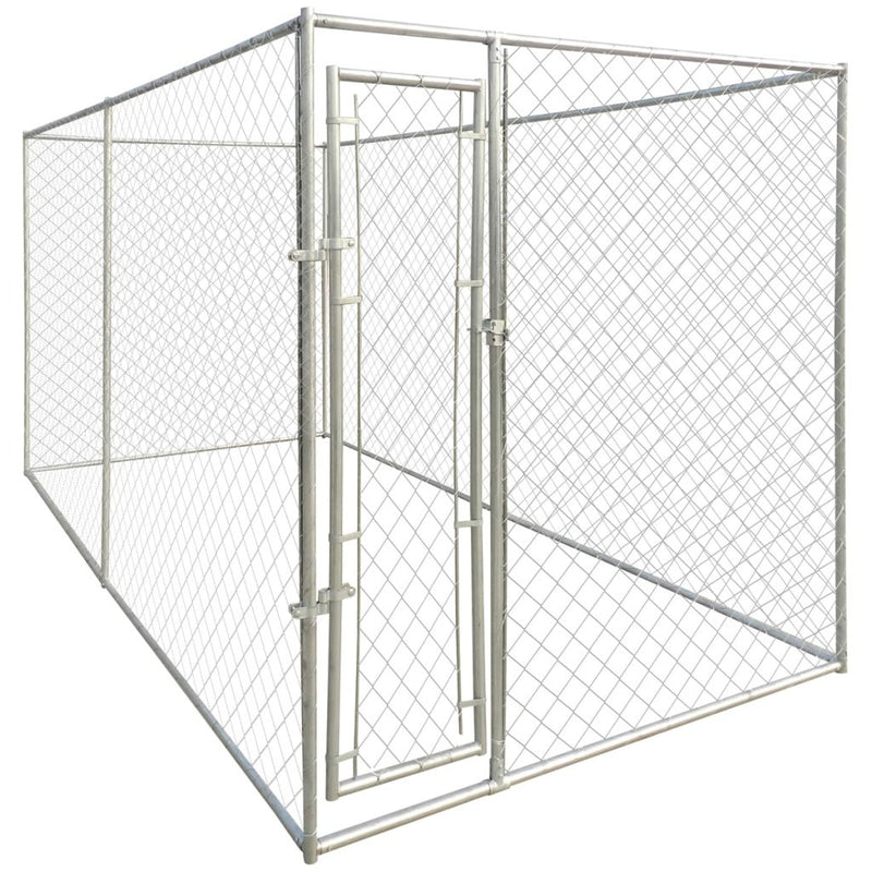 Heavy-Duty Dog Kennel 200 x 400 x 195 Cm