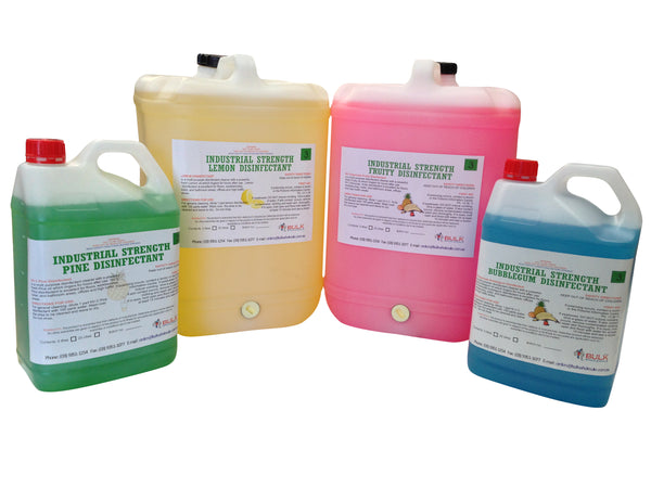 Industrial Strength Disinfectants 25L