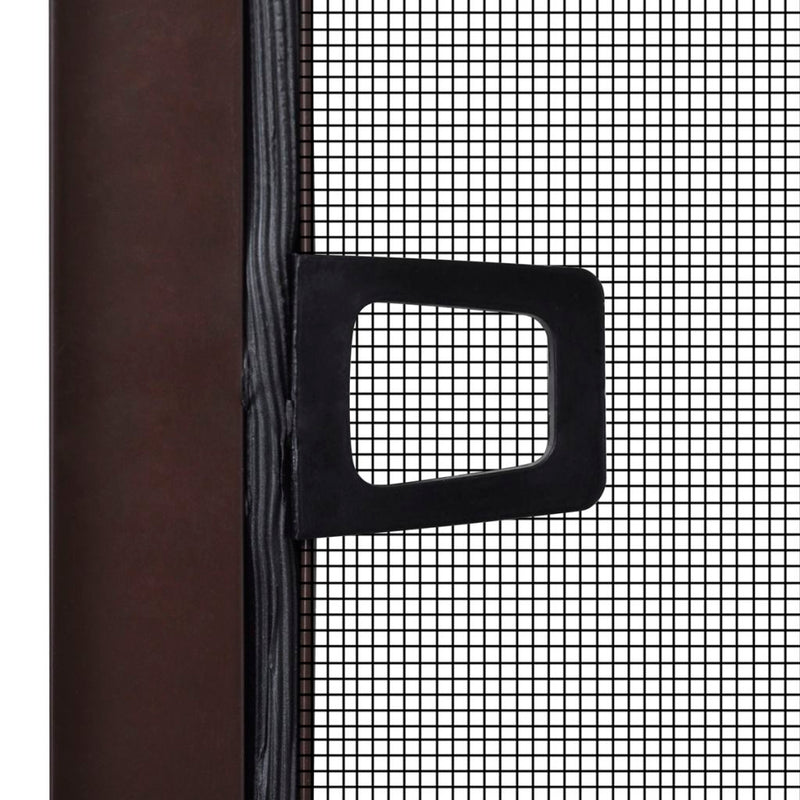 Insect Screen For Windows 130 x 150 Cm - Brown