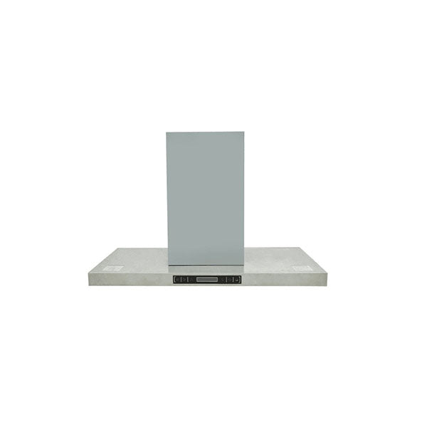 Island Mount Range Hood With Lcd Display