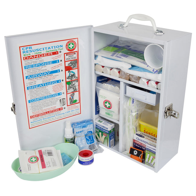 Ultimate Moderate Risk Workplace Wallmount First Aid Kit