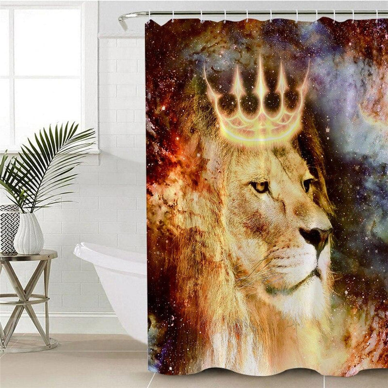 King Lion Shower Curtain