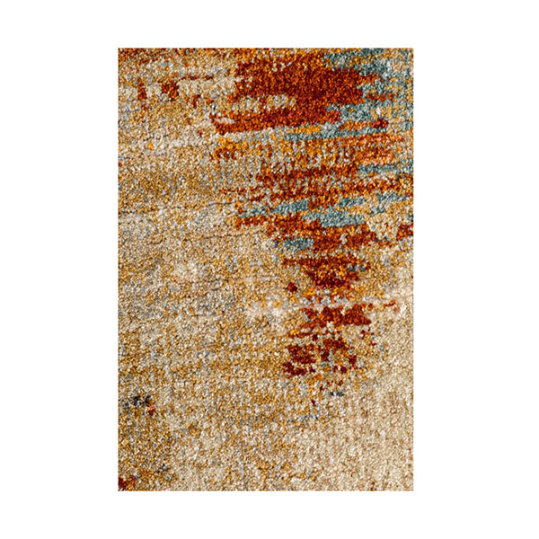 Kali Rust Contemporary Rug