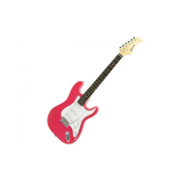Karrera 39 In Electric Guitar Pink