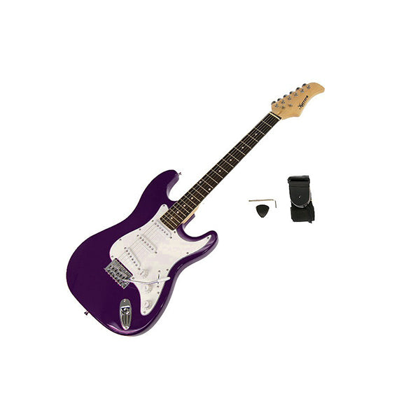 Karrera 39 In Electric Guitar Purple