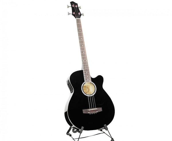 Karrera 43in Acoustic Bass Guitar