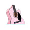 Karrera Acoustic Cutaway 40 In Guitar Pink