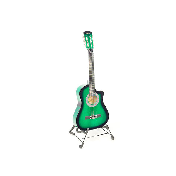 Karrera Childrens Acoustic Guitar Kids Green