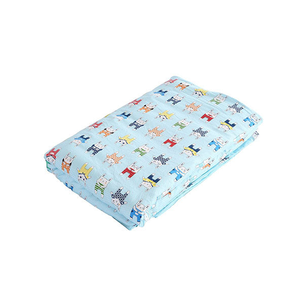 Kids Warm Weighted Blanket Lap Pad Cartoon Print