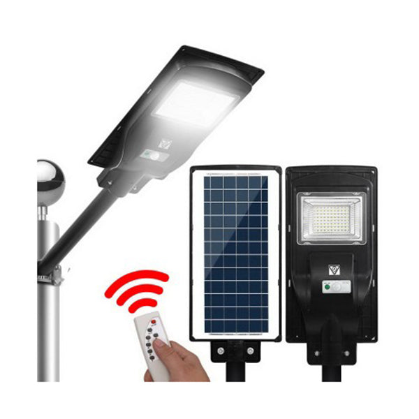 Led Solar Street Motion Sensor Remote Lights