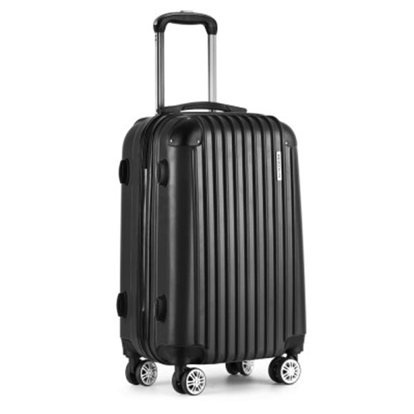 24 Inch Luggage Suitcase Trolley - Black