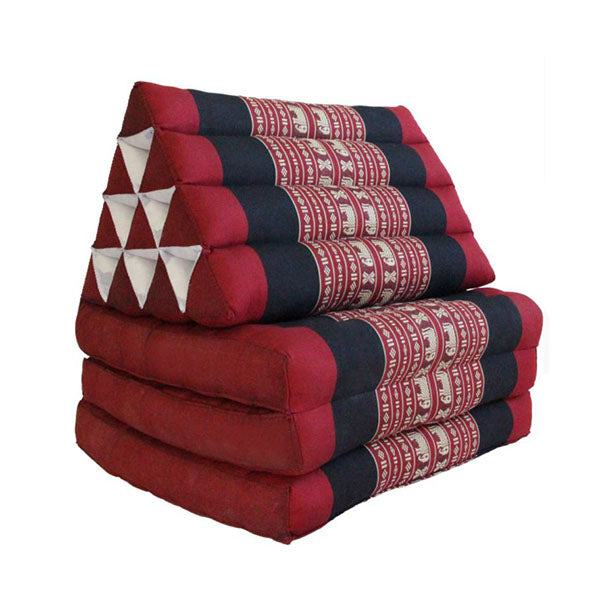 Large Thai Triangle Pillow Three Folds Redele