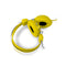 Headphones Stereo Kids Friendly Colourful Yellow