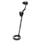 Metal Detector With Headphones LCD Screen Black