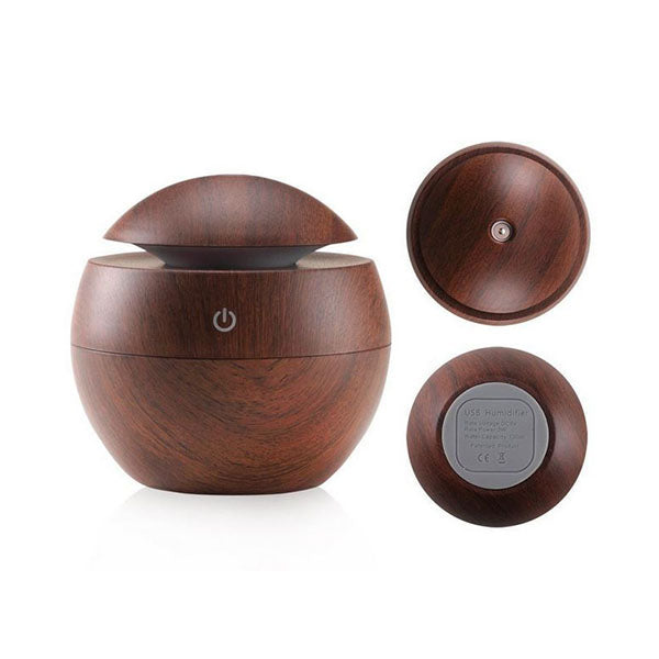 Milano Ultrasonic Usb Diffuser With 10 Aroma Oils 130Ml