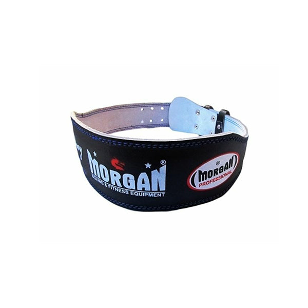 Morgan Professional Wide Leather Weight Lifting Belt 10Cm
