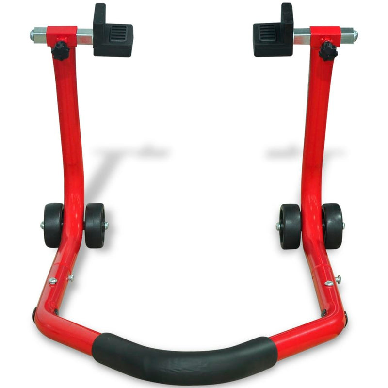 Motorcycle Rear Paddock Stand - Red