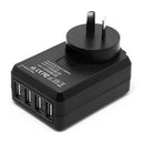 Mozbit 4.5A 4-Port USB Travel Wall Charger