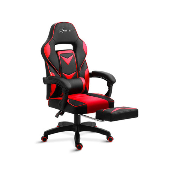 Office Chair Computer Desk Gaming Chair Black Red