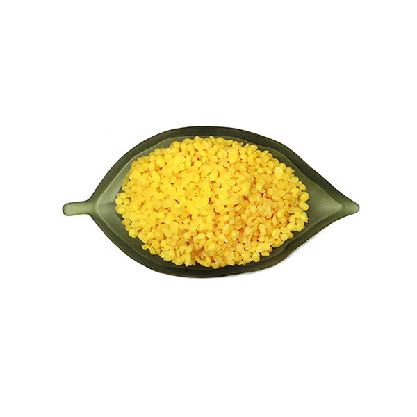 Organic Beeswax Pellets Cosmetic Grade Candle Natural Yellow In Bucket