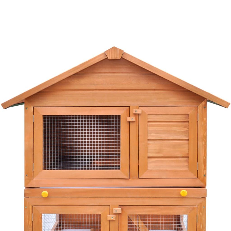 Outdoor Small Animal House 3 Layers Wood
