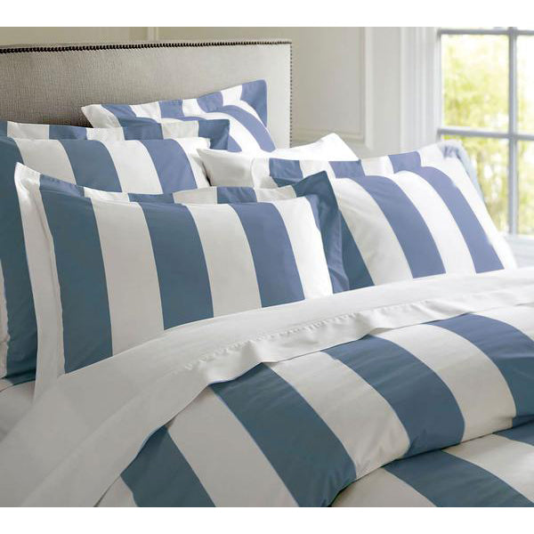 Oxford Stripe Quilt Cover Set - Queen