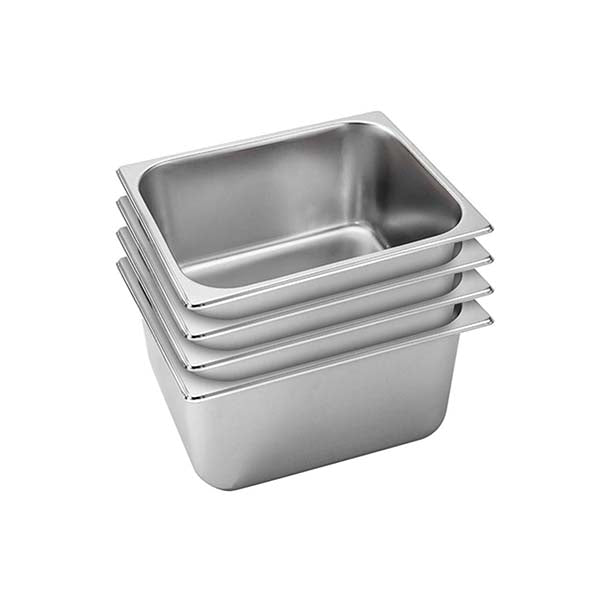 Soga 4X Gastronorm Gn Pan Full Size 20Cm Deep Stainless Steel Tray